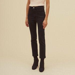 Rachel Comey - Black Denim Bismark Jeans - Size 4
